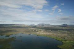 myvatn Исландии зоны стоковые изображения rf