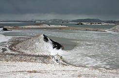 myvatn озера Стоковые Изображения RF