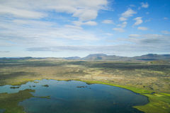 Myvatn area in Iceland Royalty Free Stock Image