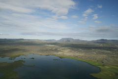 Myvatn area in Iceland Royalty Free Stock Images