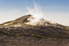 Myvatn hot spring area - Iceland. Royalty Free Stock Photos