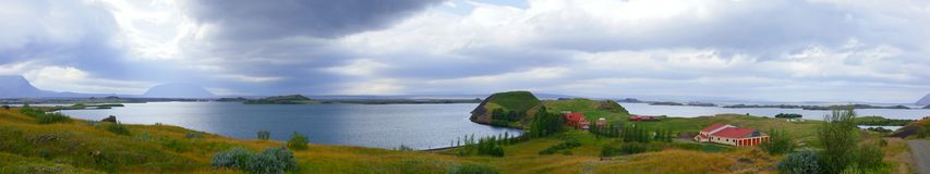 Myvatn. Royalty Free Stock Images