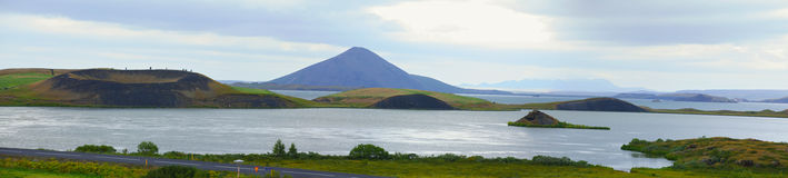 Myvatn. Stock Photos
