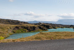Myvatn Lake Stock Photos