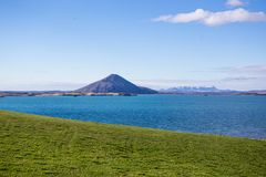 Myvatn lake Royalty Free Stock Photos