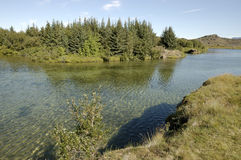 Myvatn lake, Iceland. Stock Photo