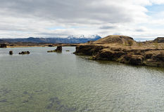 Myvatn lake, Iceland Royalty Free Stock Photos