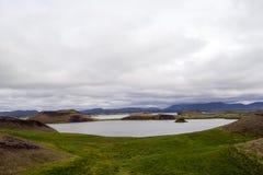 Myvatn Lake Iceland Stock Image