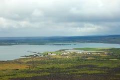 Myvatn lake landscape, Iceland. Stock Photography