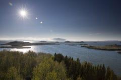 Myvatn lake Stock Photo