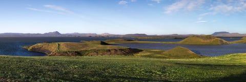 Myvatn landscape Stock Images