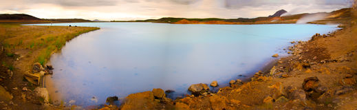 Myvatn nature baths, Iceland Stock Images