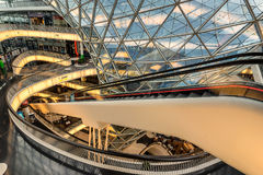 MyZeil shopping centre in Frankfurt Am Main Royalty Free Stock Photography