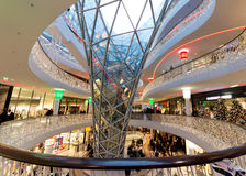 MyZeil Shopping Mall Royalty Free Stock Photos