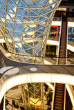 MyZeil Shopping Mall in Frankfurt, Germany Stock Image
