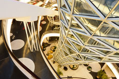 MyZeil Shopping Mall in Frankfurt, Germany Stock Photos