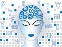 mózg mój działanie Zdjęcie Stock