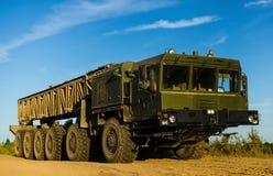 MZKT-79291 12Ñ… 12 jest Belarusian axle pojazdem zdjęcia stock