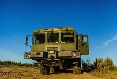 MZKT-79291 12Ñ… 12 jest Belarusian axle pojazdem obrazy stock