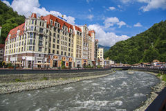 Mzymta river Stock Images