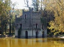 Nápoles - castillo de Gondar en la charca de Fasilides Fotografía de archivo libre de regalías