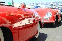 NÁPOLES - 30 DE JUNHO: Carro de Porsche 911 da exposição fora em Nápoles, o 30 de junho de 2016 Italy Fotografia de Stock