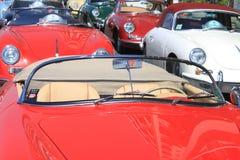 NÁPOLES - 30 DE JUNHO: Carro de Porsche 911 da exposição fora em Nápoles, o 30 de junho de 2016 Italy Imagem de Stock Royalty Free