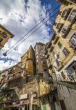 Nápoles - distrito de clase obrera Foto de archivo