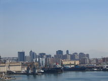 Nápoles, horizonte Fotografía de archivo libre de regalías