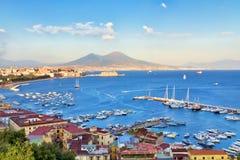 Nápoles, Italia fotografía de archivo