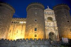Nápoles, Italia: Castillo Maschio Angioino Fotografía de archivo