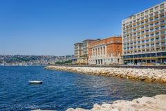 Nápoles, Italia, 'promenade' Imagenes de archivo