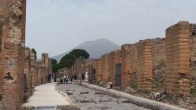 Nápoles, Pompeya e Italia fotografía de archivo