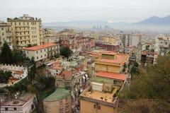 Nápoles - Vesuvio Imagens de Stock
