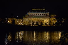 National Theatre in Prague Czech Republic stock images