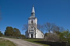 Näsinge church (west) Stock Photos