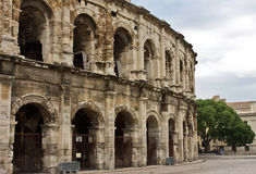 The Nîmes Arena Royalty Free Stock Images