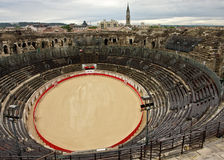 The Nîmes Arena Stock Photography