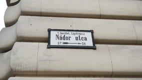 NÃ ¡ dor Utca Stock Fotografie