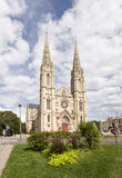 Nîmes-Kirche Stockbild