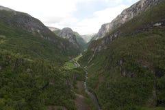 Nærøy dolina Fotografia Royalty Free