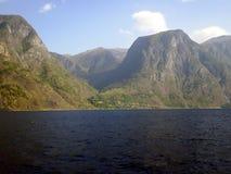 Nærøyfjord 免版税库存照片