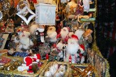 NÃ-¼rnberg, Tyskland - DECEMBER 19: Romantisk julmarknad med arkivbild