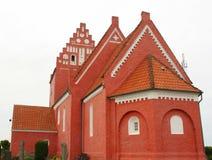 Nørre Vedby Kirke dinamarca Fotos de archivo libres de regalías