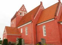 Nørre Vedby Kirke dinamarca Fotografía de archivo