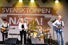 Nästa de Svensktoppen Fotografía de archivo