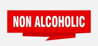 não alcoólico ilustração stock
