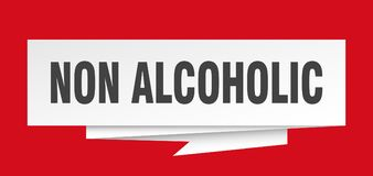 não alcoólico ilustração royalty free