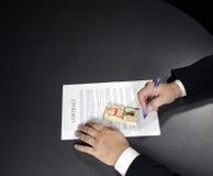 Não assine, ele é uma armadilha Imagem de Stock Royalty Free