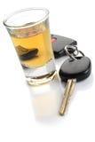 Não beba e não conduza Foto de Stock